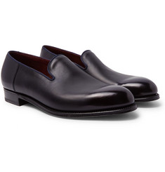 J.M. Weston Tamponato Leather Loafers
