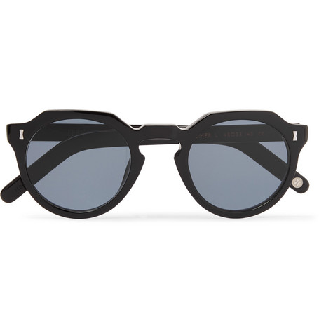 cubitts male cromer roundframe acetate sunglasses