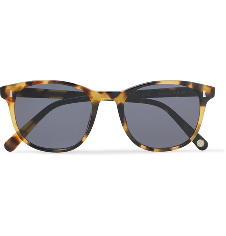 cubitts male seaford dframe tortoiseshell acetate sunglasses