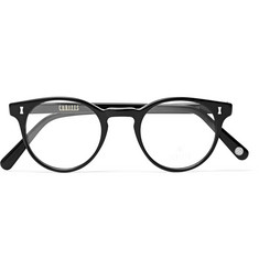 Cubitts Herbrand Round-Frame Acetate Optical Glasses