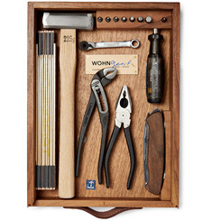 WohnGeist - 7-Piece Tool Kit In Wood Case