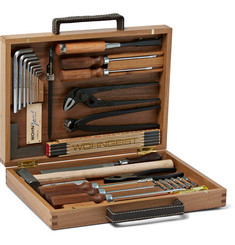 WohnGeist 24-Piece Tool Kit in Wood Case