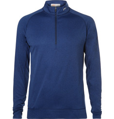 Kjus Golf Keano Mélange Jersey Half-Zip Golf Top