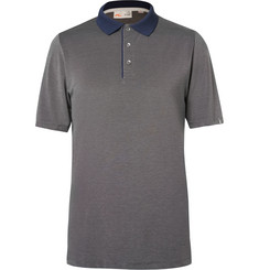 Kjus Golf Sami Stretch-Jersey Golf Polo Shirt
