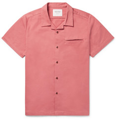 Noon Goons Pharcyde Camp-Collar Brushed Cotton-Twill Shirt