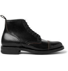 Viberg Service Cordovan Leather Boots