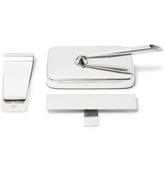 Foundwell - Tiffany & Co. Three-Piece Sterling Silver Desk Set