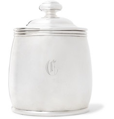 Foundwell - Engraved Sterling Silver Cigar Humidor