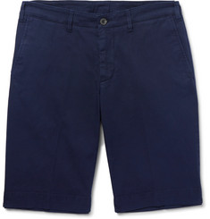 Canali - Stretch-Cotton Chino Shorts
