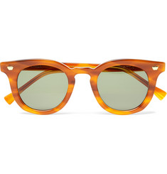 Max Pittion - Fairchild Round-Frame Tortoiseshell Acetate Sunglasses