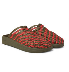 Malibu - + Missoni Colony Woven Nylon-Webbing Sandals