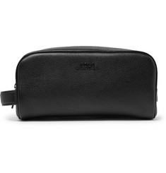 Polo Ralph Lauren Full-Grain Leather Wash Bag