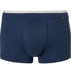 Hanro Liam Stretch Cotton and Modal-Blend Piqué Boxer Briefs