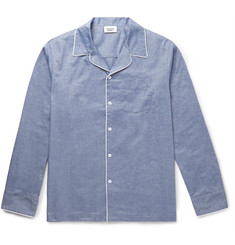Sleepy Jones - Henry Mercerised Cotton Pyjama Shirt
