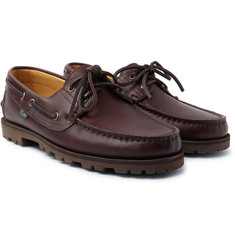 Arpenteur - + Paraboot Malo Leather Boat Shoes