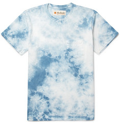 Mollusk Tie-Dyed Cotton-Jersey T-Shirt