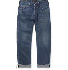 Chimala Cuffed Selvedge Denim Jeans