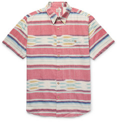 Faherty Coast Striped Cotton Shirt