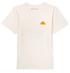 Mollusk Realize Printed Cotton-Jersey T-Shirt