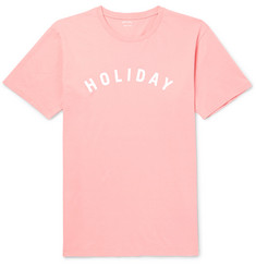 Holiday Boileau Slim-Fit Printed Cotton-Jersey T-Shirt