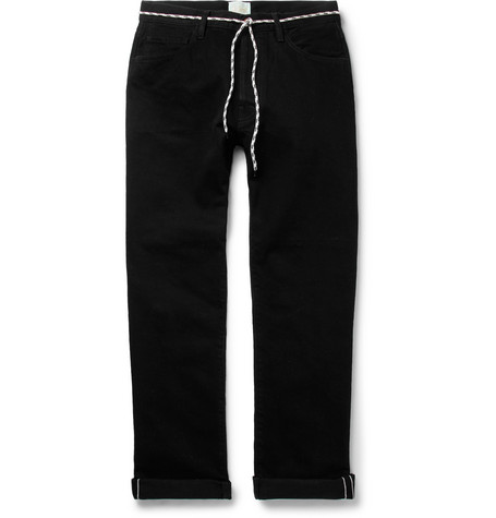 Lilly Selvedge Denim Jeans - BlackAries