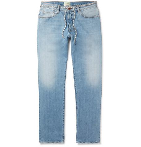 eacb8088c2d583 Aries Arise Lilly Selvedge Denim Jeans In Indigo | ModeSens