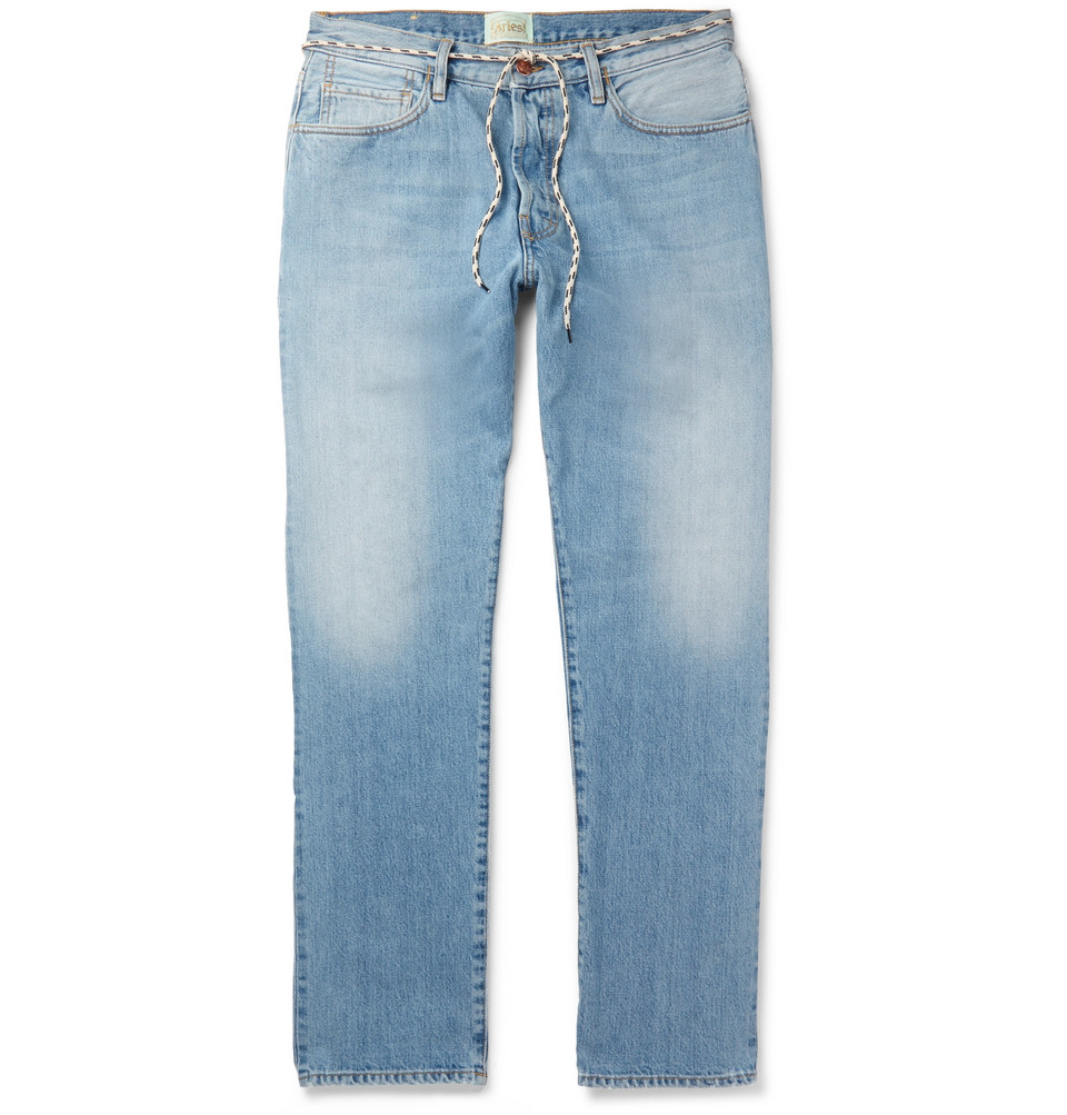 Lilly Selvedge Denim Jeans - Indigo