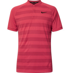 Nike Golf Zonal Cooling Momentum Striped Mesh Golf T-Shirt