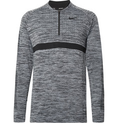 Nike Golf Mélange Dri-FIT Half-Zip Golf Top