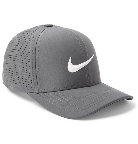 8bc33ccbc1884e Nike Aerobill Classic 99 Perforated Dri-Fit Cap In Charcoal   ModeSens