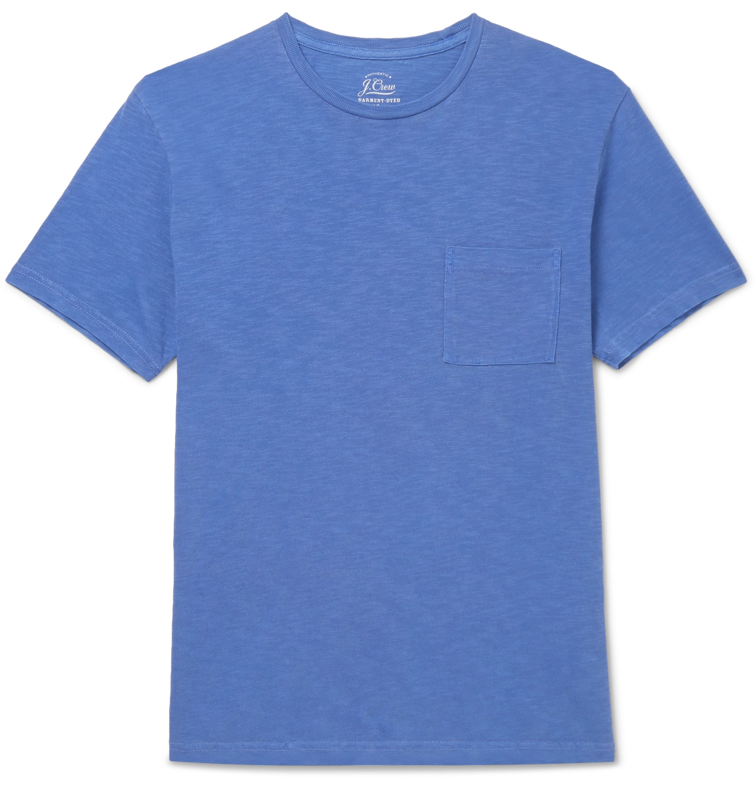 Garment-dyed Slub Cotton-jersey T-shirt J.crew 2018 Newest 100% Authentic Online Manchester Great Sale For Sale Fashion Style For Sale ucFegNaK
