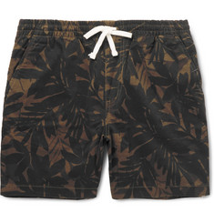 J.Crew Printed Stretch-Cotton Twill Shorts