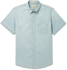 J.Crew Slim-Fit Cotton-Blend Chambray Shirt