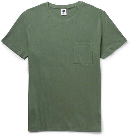 Barry Linen And Cotton Blend Jersey T Shirt by Nn07