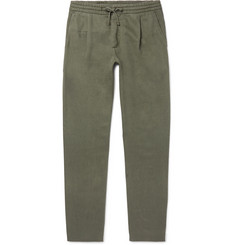 NN07 Domenico Tapered Twill Drawstring Trousers