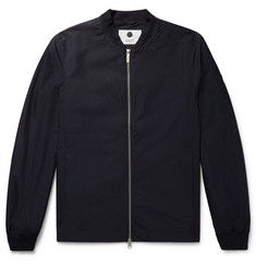NN07 Cotton and Nylon-Blend Matte-Satin Bomber Jacket