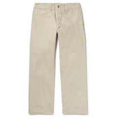 RRL Brushed Cotton-Twill Chinos