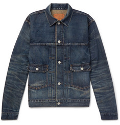 RRL Type 2 Washed Selvedge Denim Jacket