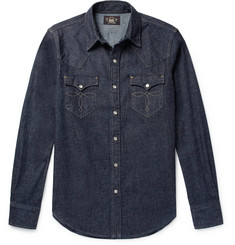RRL - Slim-Fit Denim Western Shirt