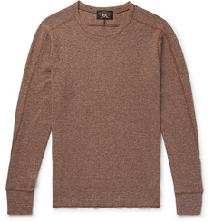 RRL Slim-Fit Waffle-Knit Cotton T-Shirt