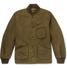 RRL Stuart Cotton-Twill Bomber Jacket