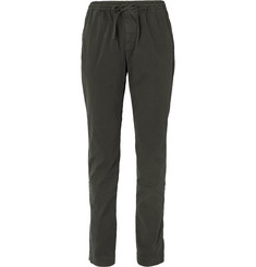 Tomas Maier - Stretch-Cotton Twill Drawstring Trousers