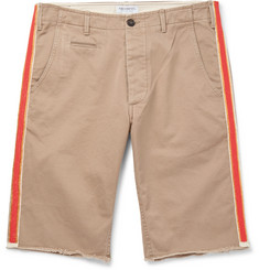 President's - Stevie Embellished Cotton-Twill Bermuda Shorts