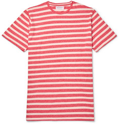 President's Striped Mélange Cotton-Jersey T-Shirt
