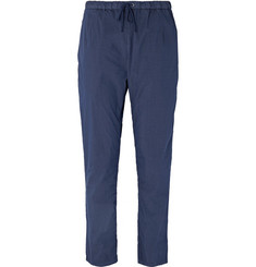 President's - Cotton-Blend Poplin Drawstring Trousers
