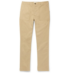 Officine Generale Cotton-Twill Trousers