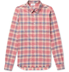 FRAME - Slim-Fit Checked Flannel Shirt
