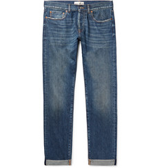 SALLE PRIVÉE - Lewitt Distressed Selvedge Denim Jeans