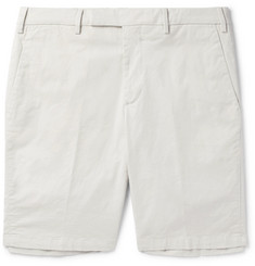 SALLE PRIVÉE Steven Slim-Fit Cotton-Poplin Chino Shorts