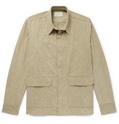 The Lost Explorer Sloth Organic Cotton-Ripstop Overshirt